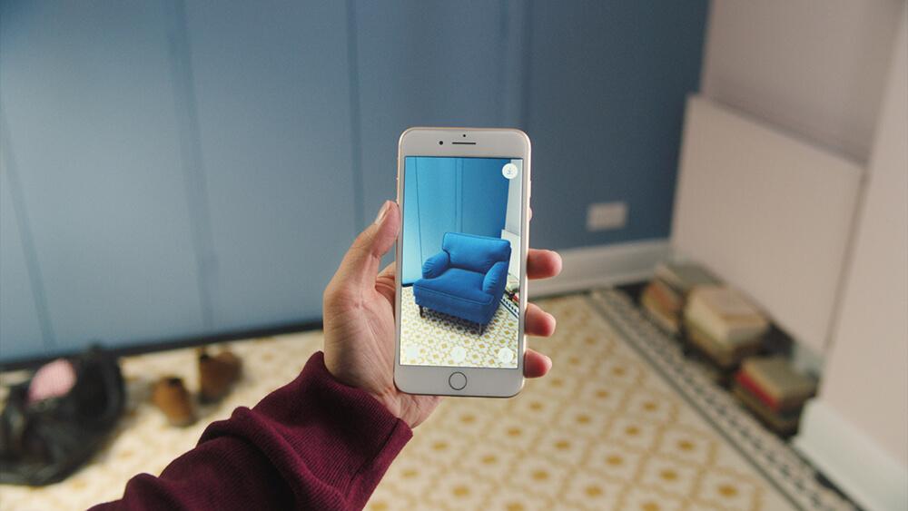 Ikea introduceert nieuwe augmented reality app voor interieur