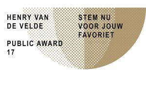 Henry van de Velde Awards 2017